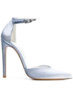 туфли на шпильке с заостренным носком Stuart Weitzman