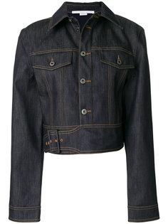 джинсовая куртка с необработанным краем Angelica Stella McCartney