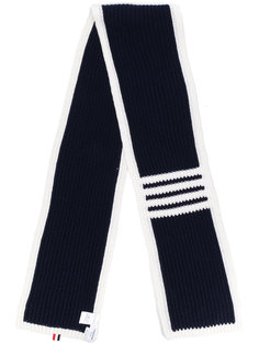 шарф с контрастной полосой Thom Browne