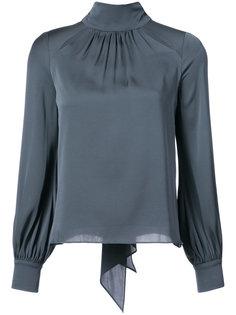 блузка с высоким горлом Milly