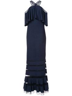 flared maxi dress Tadashi Shoji