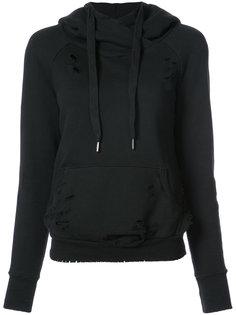 distressed hoodie NSF