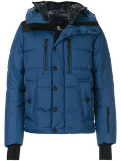 padded embellished collar coat Moncler Grenoble