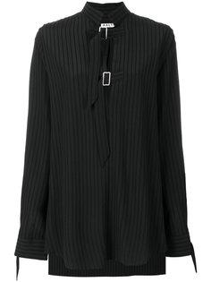 свободная рубашка в полоску с пряжкой  Aalto