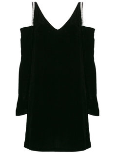 платье с отделкой кристаллами  McQ Alexander McQueen