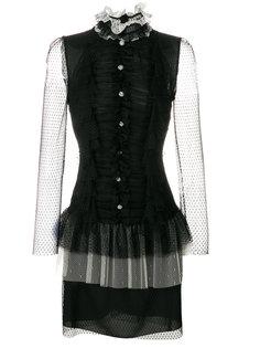 платье мини из тюля  Philosophy Di Lorenzo Serafini