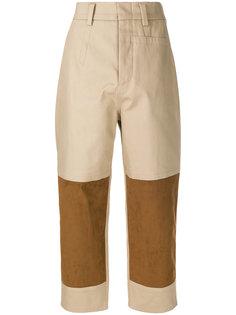 укороченные брюки со вставками  Sofie Dhoore