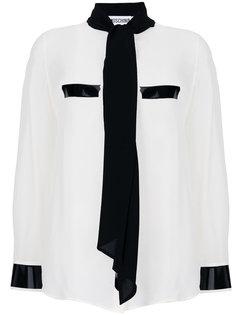 блузка с шарфом  Moschino