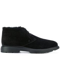 ботинки Дерби с подкладкой из овчины Hogan