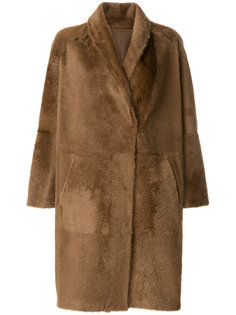 oversized mid-length coat Sprung Frères