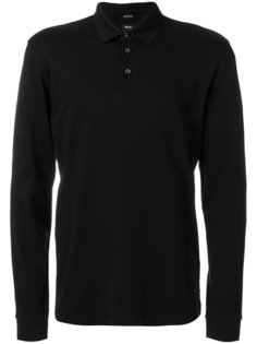 футболка-поло с длинными рукавами Boss Hugo Boss