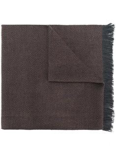 frayed scarf Corneliani