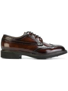 лакированные туфли со шнуровкой  Corneliani