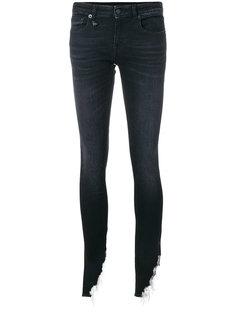 джинсы скинни с рваной кромкой Kate R13