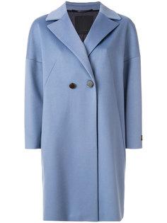 двубортное пальто  Les Copains