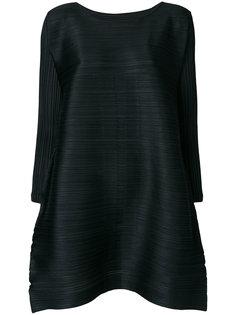 плиссированное платье миди  Pleats Please By Issey Miyake