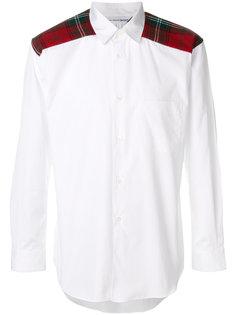рубашка с панелями в клетку Comme Des Garçons Shirt