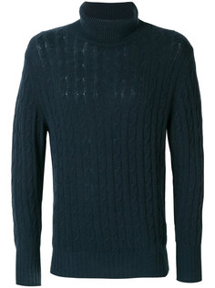 roll neck cashmere jumper N.Peal