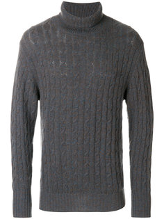 cable cashmere jumper N.Peal