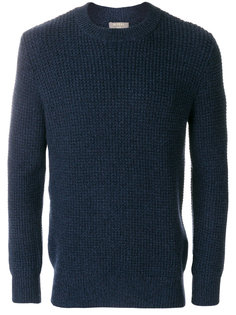 waffle knit cashmere jumper N.Peal
