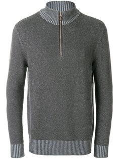 half zip cashmere jumper N.Peal