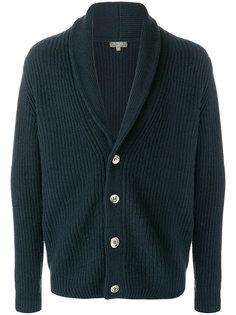 shawl collar cashmere cardigan N.Peal