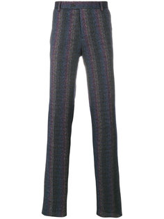 брюки с зигзагообразным узором Missoni