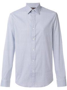 рубашка на пуговицах с мелким узором Michael Kors