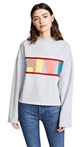 SJYP SJYP Logo Crop Sweatshirt