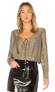 Блуза с запахом - DEREK LAM 10 CROSBY
