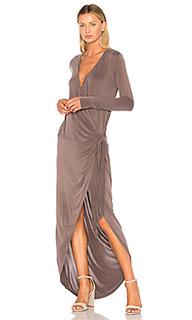 Платье с запахом emilio - YFB CLOTHING