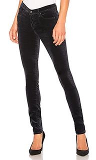 Бархатные джинсы скинни velvet legging - AG Adriano Goldschmied