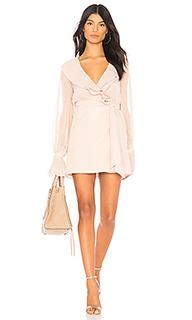 Мини платье с запахом white sands - Chrissy Teigen