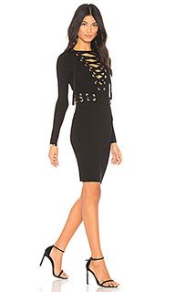 Платье миди como - Chrissy Teigen