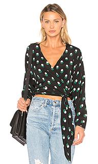 Wrap dot blouse - Diane von Furstenberg