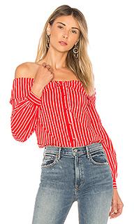 Рубашка с открытыми плечами the elise - LAcademie