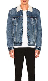 Водительская куртка с подкладкой из шепры type iii - LEVIS Premium