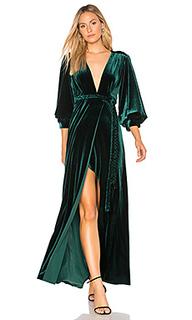 Платье с запахом madeleine - MISA Los Angeles