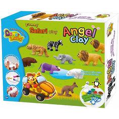 """Игровой набор для лепки из глины """"Funny Safari"""", Angel Clay"""