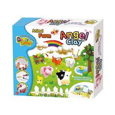 """Игровой набор для лепки из глины  """"Animal Farm"""", Angel Clay"""