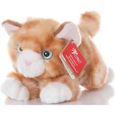 Мягкая игрушка Котик рыжий, 22см, AURORA