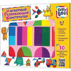 Магнитный развивающий конструктор, 30 дет., KriblyBoo