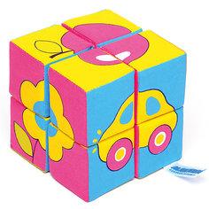 "Кубики ""Собираем картину - предметы"", Мякиши"