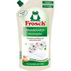 Концентрированный ополаскиватель для белья (Миндальное молочко), 1 л, Frosch