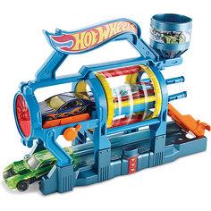 Трансформирующийся игровой набор Turbo Jet Car Wash, Hot Wheels Mattel