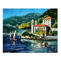 "Картина по номерам ""Афремов: Озеро Комо, Италия"", 40*50 см Molly"