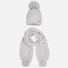 Комплект: шапка и шарф Mayoral для девочки