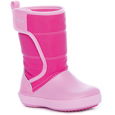 Сапоги LodgePoint Snow Boot K для девочки Crocs