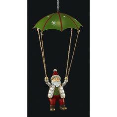"""Украшение на елку ErichKrause """"Санта на парашюте"""", 14 см"""