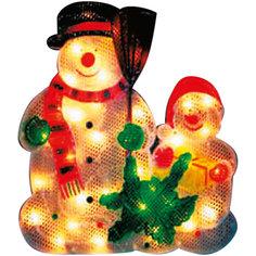 35 ламп, фигура снеговик, разноцветный, 33*33,5 см,  белый влагозащит провод 1,5 м Marko Ferenzo